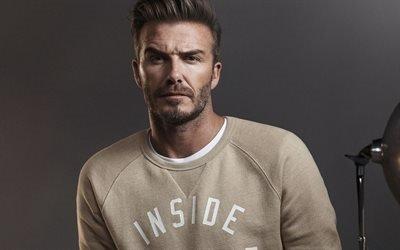 Дэвид Бекхэм, David Beckham, британский футболист, фотосессия для осенне-зимней кампании H&M