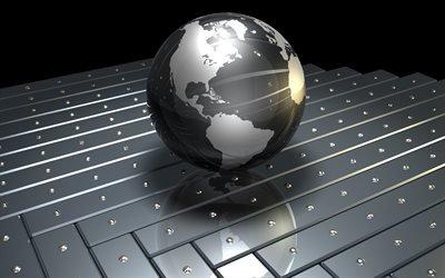 глобус, Земля