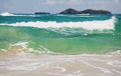 волны, море, Хвилі