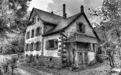 Старый особняк, Эльзас, Франция