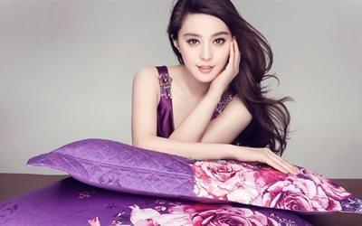 Фань Бинбин, 4к, знаменитости, Fan Bingbing, китайская актриса, 4k