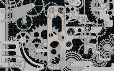 Механика, Текстуры, Зубчатая передача