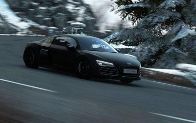 Ауди Р8, Audi R8, гонки, игры, Ауди