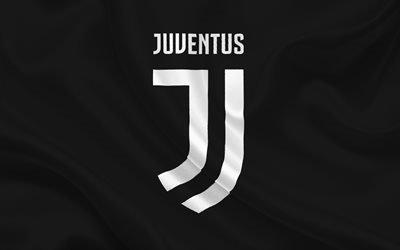 новая эмблема, Ювентус, Серия А, Италия, логотип Ювентуса 2017, Juventus