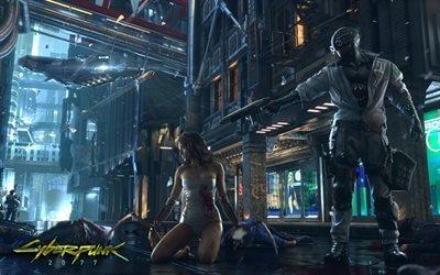 Киберпанк 2077, игры 2017, RPG, Cyberpunk 2077