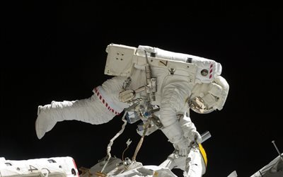 космос, астронавт, станция