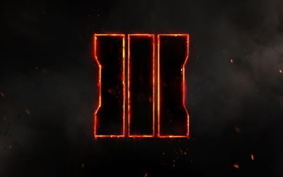 Call of Duty Black Ops 3, логотип, 2016, креатив