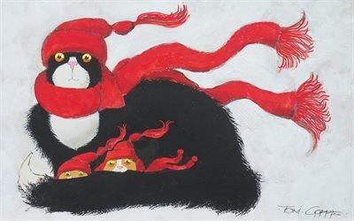 Тони Гоффе, Toni Goffe, американский художник-илюстратор, Спасаясь от шторма, Shelfer from the storm