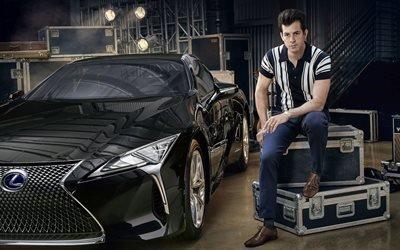 Марк Ронсон, Mark Ronson, британский диджей, гитарист, Лексус, спортивное купе, Lexus, LC