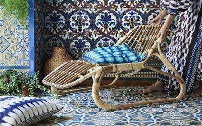 Плетеная мебель, Ротанг, Кресло, IKEA