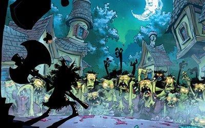 Я неавижу Страну Чудес, I Hate Fairyland, comics, Гертруда, Арт, Фэнтези, Комиксы
