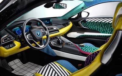 БМВ, спортивное купе, гибрид, тюнинг, BMW, i8, Garage Italia Customs