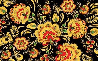цветы, узоры