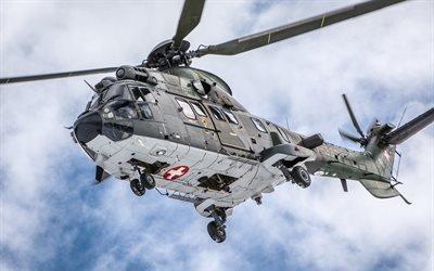 Супер Пума, многоцелевой вертолет, Военно-Воздушные Силы Швейцарии, AS 332 Super Puma, Schweizer Luftwaffe