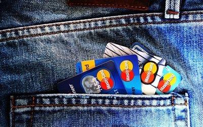 Джинсы, Карман, Кредитные карты