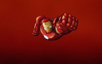 Железный человек, Iron Man, минимализм