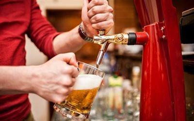 Барная стойка, Пиво, Бокал