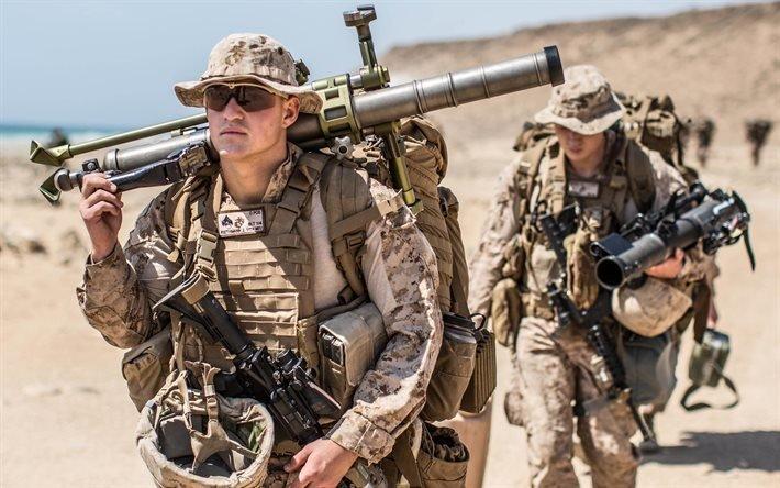 Корпус морской пехоты США, Солдаты, Оружие, Учения
