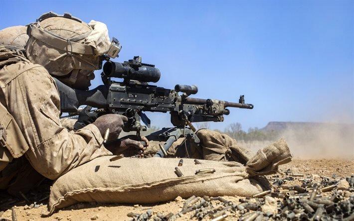 Корпус морской пехоты США, Солдат, Оружие, Учения