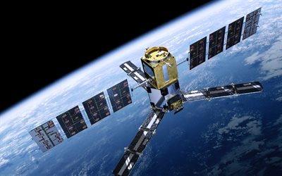 Космический спутник, космічний супутник