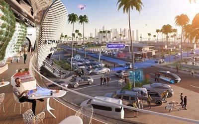 Даймлер, Сценарий будущего, Концепт, 2036, Daimler, Future Scenarios, Concept