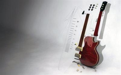 3Д, гитара, гітара