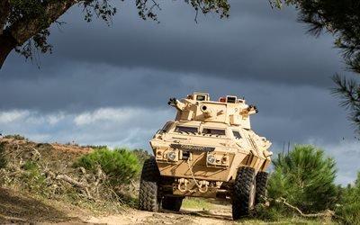 M1117 Armored Security Vehicle, 4K, бронетехника, американская армия
