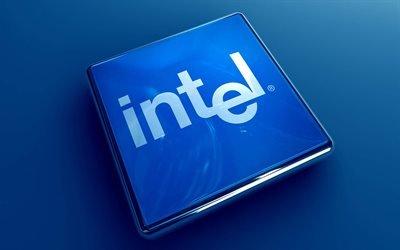 логотип, Интел, intel