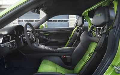 Порше, спортивное купе, 2018, Porsche, Porsche 911 GT3 RS