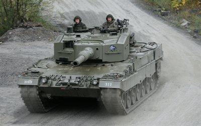 немецкий танк, леопард 2а, Leopard, Бундесвер, армия