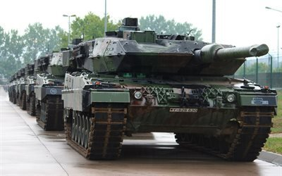 леопард 2а, Leopard 2 A5, немецкий танк, Leopard 2