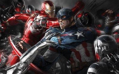 Железный человек, Iron Man, Captain America, Avengers, Age of Ultron, 2015, Мстители 2, Ultron