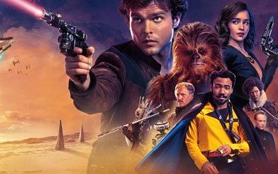 Хан Соло Звёздные Войны : Истории, Solo : A Star Wars Story, 2018, фантастика, приключения