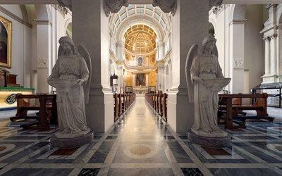 Интерьер, Ренессанс, Римско-католическая церковь Святого Патрика, Лондон