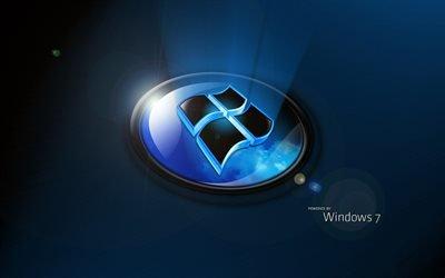 эмблема, логотип, Windows 7, Виндоус 7, Windows