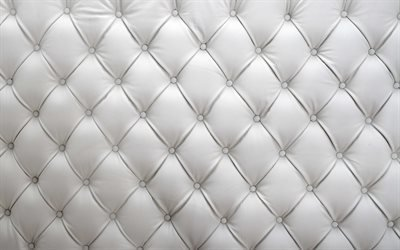 белая кожа, текстура кожи, диван