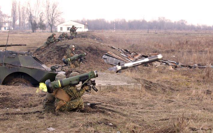 ПТРК Джавелин, FGM-148 Javelin, противотанковый ракетный комплекс, оружие США