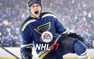NHL 17, игры 2017, EA Sports, хоккей, Владимира Тарасенко, симулятор хоккея, Сент-Луис Блюз