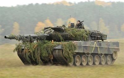 немецкий танк, леопард 2а, немецкая армия, камуфляж, Leopard 2