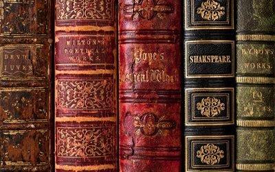 книга, библиотека, книги, Шекспир, Байрон