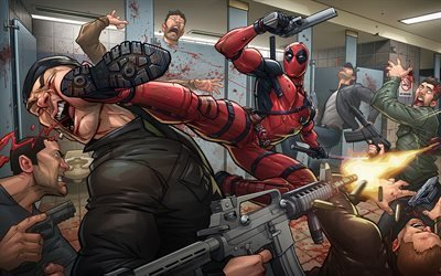 Арт, Фэнтези, Дэтпул, Art, Comics, Deadpool
