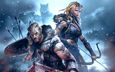 Викинги : Война Кланов, Vikings : War of Clans, видеоигра в жанре стратегии