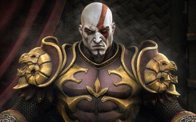Бог Войны 2, God of War II, видеоигра в жанре hack and slash