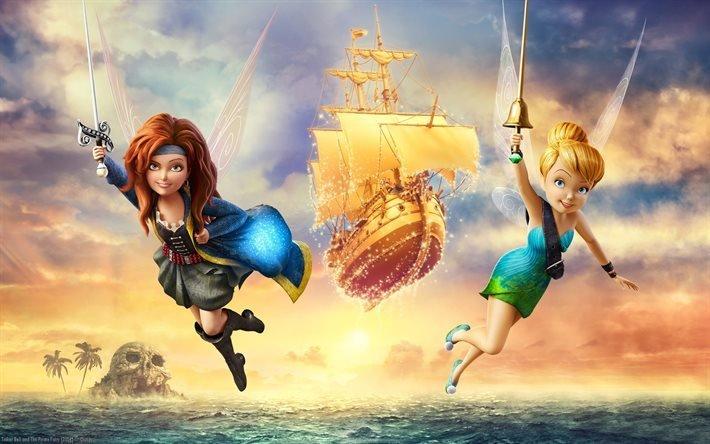 Скачать феи загадка пиратского острова через торрент - d8d