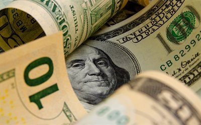 доллары, макро, деньги, 100 долларов