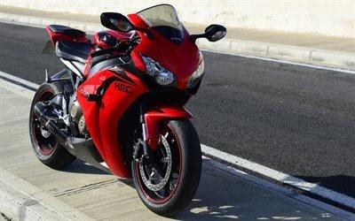 Honda CBR1000RR Fireblade, raceway, спортбайк, Хонда, супербайк