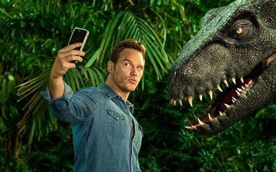 Крис Прэтт, Chris Pratt, американский актёр кино и телевидения, American actor, Кристофер Майкл Прэтт, Christopher Michael Pratt, Мир юрского периода 2, Jurassic World : Fallen Kingdom
