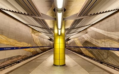 метро, тунель, метрополитен