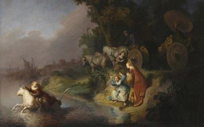 Похищение Европы, 1632, Рембрандт Харменс ван Рейн, Rembrandt Harmenzoon van Rijn, голландский художник