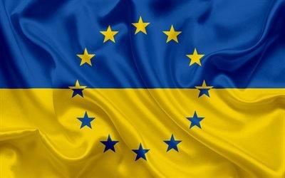 прапор України, Україна, Європа, Європейський союз, флаг Украины, Украина, Европа, Европейский союз